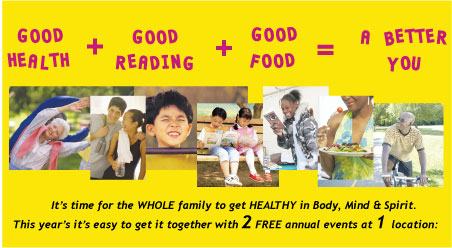 Good Health + Good Reading + Good Food = A Better You